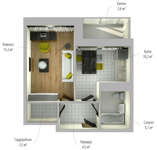Перепланировка квартиры: советы юриста Украинский
